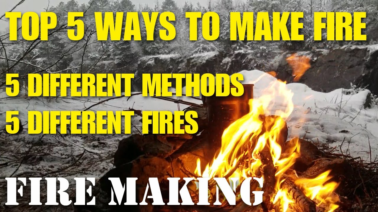 Download Top 5 ways to start a camp fire