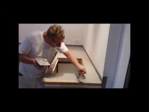 Beton ciré aanrechtblad is een echt pronkstuk in uw keuken