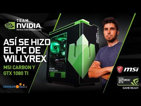 Así se hizo el GeForce GTX PC de Willyrex