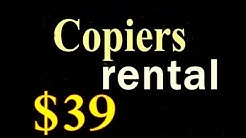 Office Copiers for Rent New York, NY