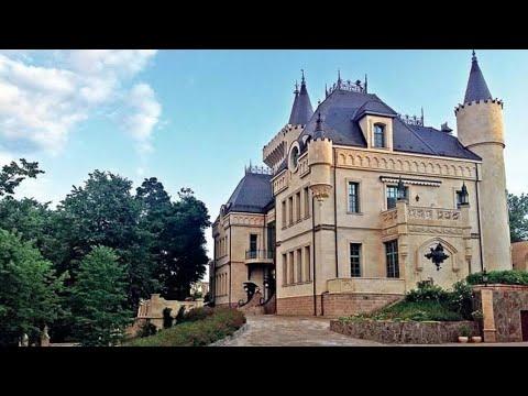 Замок Аллы Пугачевой деревня Грязь (замок галкина)