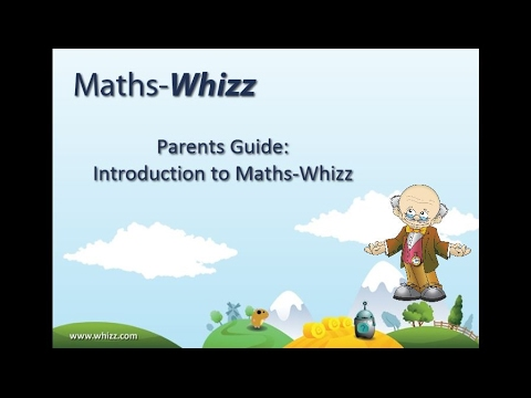 Parent Guide Introduction to Maths-Whizz