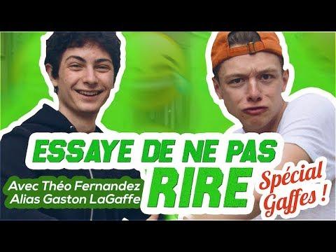 ESSAYE DE NE PAS RIRE COMPLĒTEMENT RATÉ !!! 😂 avec Théo Fernandez alias Gaston LaGaffe