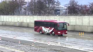 Exclusive insight Mercedes-Benz Buses on the Stuttgart Untertuerkheim Test Track