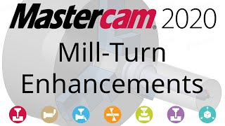 What's New in Mastercam 2020: Mill-Turn