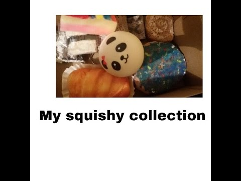 My Squishy Bun Collection : My squishy collection - YouTube