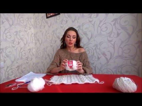 анонс мк по вязанию спицами свитера со спущенным плечом видео