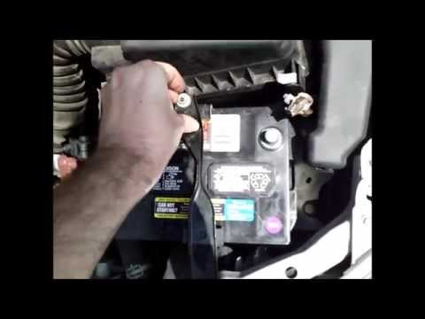 How to Replace Your Vehicle's Battery (Toyota Corolla)
