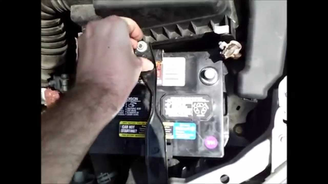 How To Replace Your Vehicles Battery Toyota Corolla Youtube Matrix Wiring