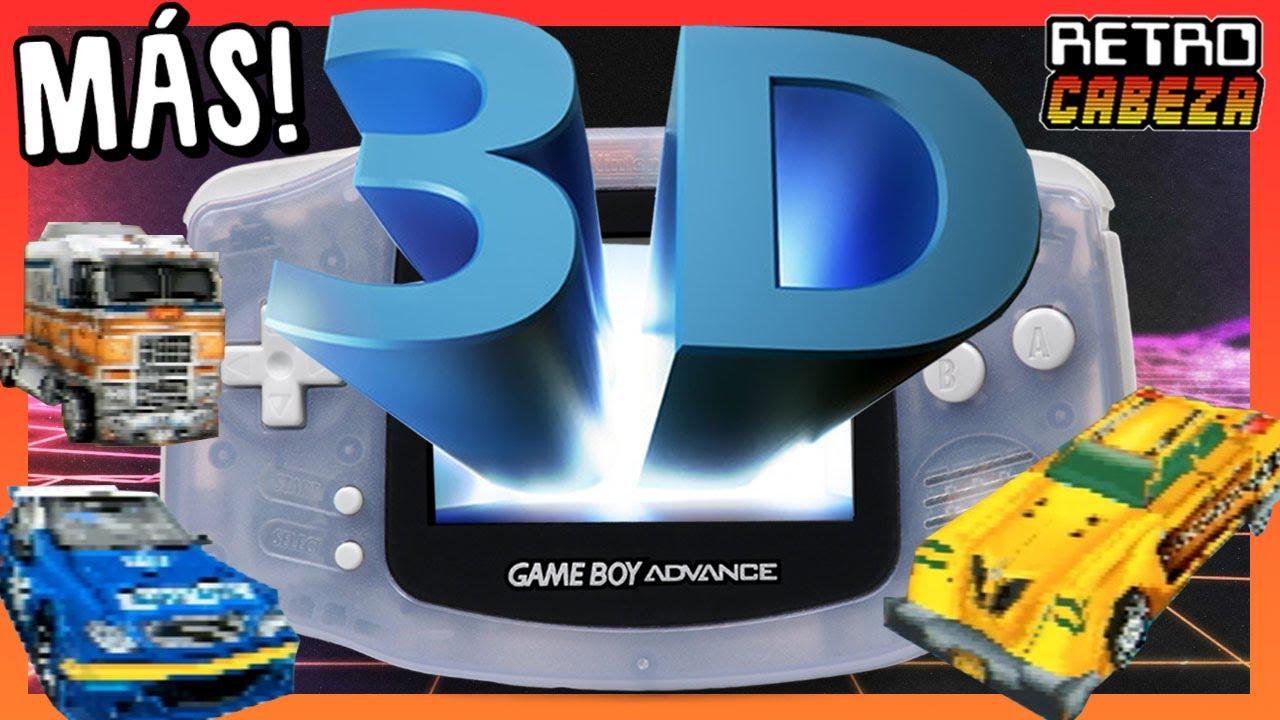 MÁS Juegos en 3D para GAME BOY ADVANCE