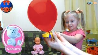 ✔ Кукла Ненуко и Ярослава открывают новый набор Мыльных Пузырей / Doll Nenuco with Yaroslava ✔