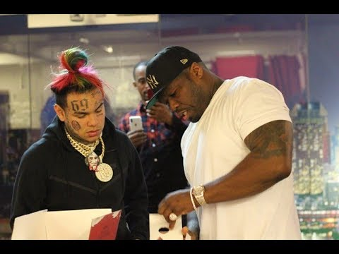 6ix9ine on YG Beef, 50 Cent Cosign, Gotti, King Of NY + Breakfast Club & Charlamagne W Pvnch