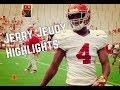 Jerry Jeudy Highlights at Alabama