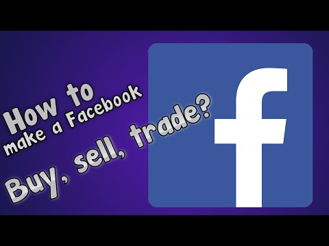 How to make Facebook BUY, SELL, TRADE group?!