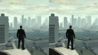 GTA IV PC - ENBSeries downscaling side by side comparison