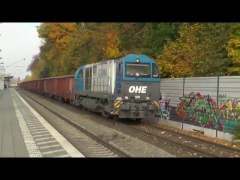 OHE Schrottverkehr vom Osnabrücker Hafen zur Georgsmarienhütte