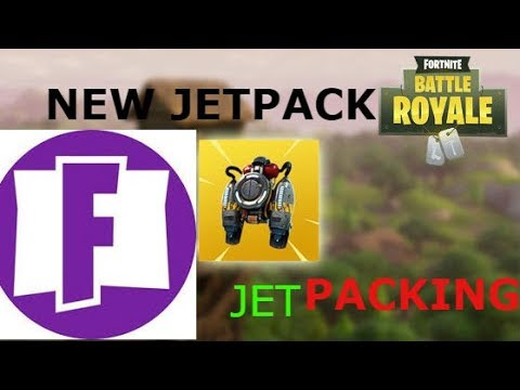 NEW FORTNITE JETPACK ANNOUNCED