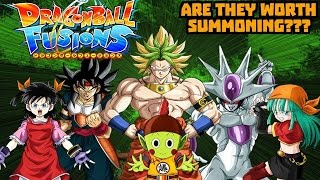 ARE THEY WORTH SUMMONING??? Dragon Ball Fusion Banner Character Analysis
