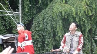 [HD FANCAM] 감아 (Close Your Eyes) - 로꼬 Loco (Rainbow Island Music Festival 150620)