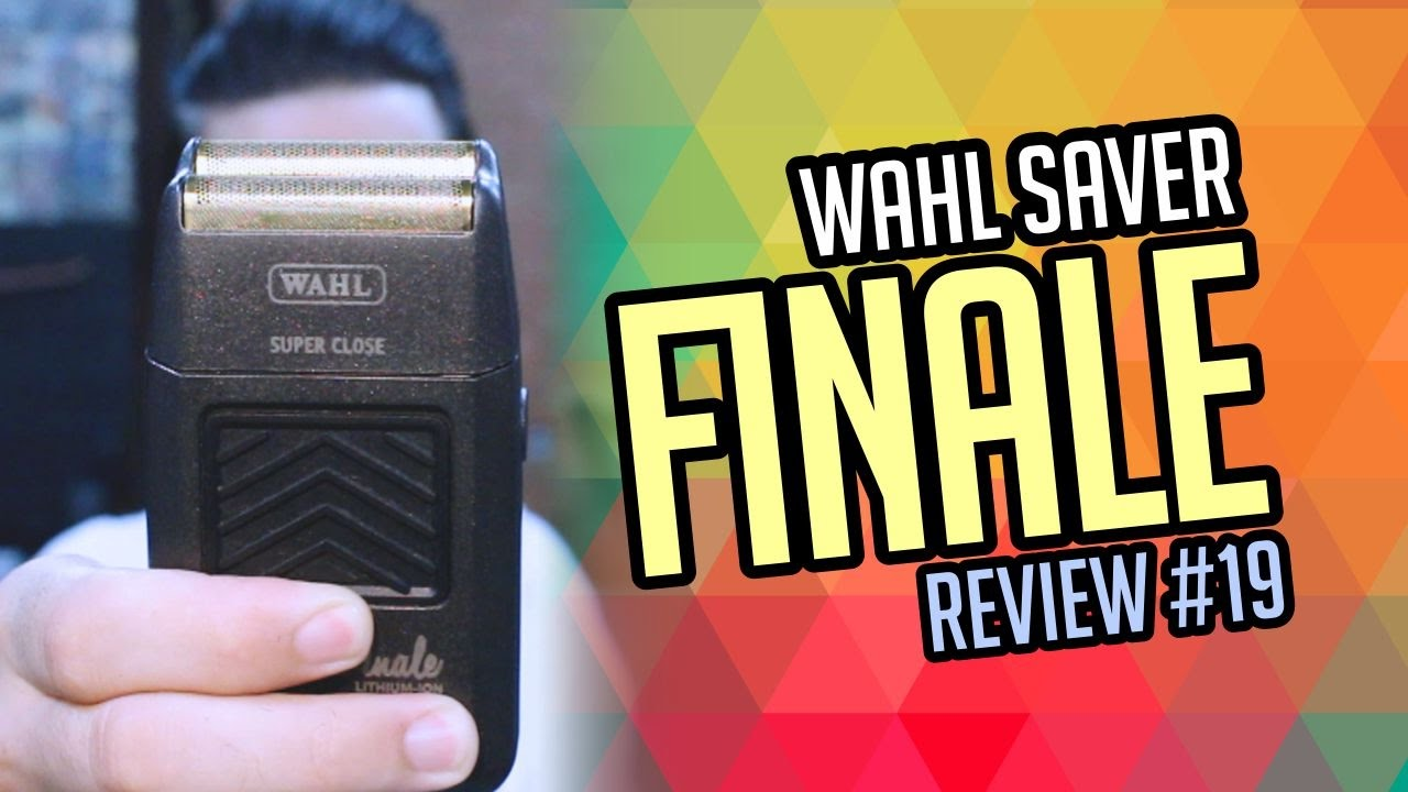 21ecd4401 Wahl Shaver Finale - REVIEW #19 - YouTube