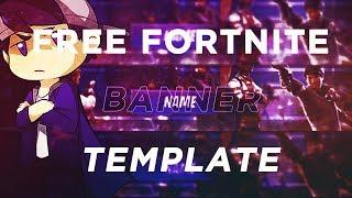 FREE FORTNITE banner template DL IN DESC