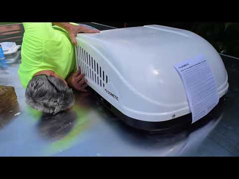 How to install air conditioner unit on RV / Trailer: Part 1