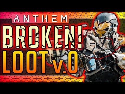 Anthem | LOOT BROKE AGAIN: The 1.0.4. Disaster! #Anthem