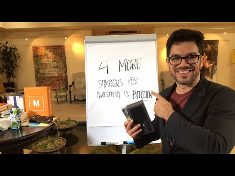 💵 4 More Strategies For Investing In BITCOIN 💻 tailopez.com/learnbitcoin