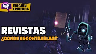 LOCATION MAGAZINES MISSION LIMITED EDITION ? FORTNITE SAVE THE WORLD GUIA MAGAZINES