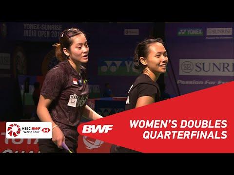 QF | WD | HOO/YAP (MAS) [4] vs HARIS/KUSUMAH (INA) | BWF 2019