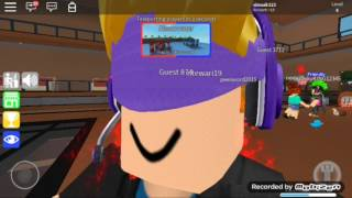 Roblox First video xD