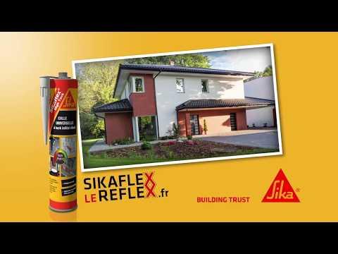 Vidéo Pub TV –SIKAFLEX LE REFLEX. Sika Spot TV Sikaflex High Tack