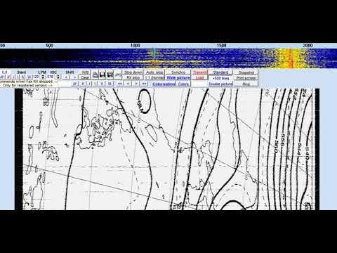 Shanghai Coastal Radio (Shanghai, China) - 12381 kHz (HF-FAX)