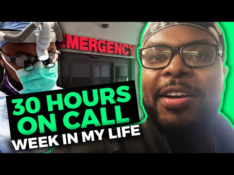30 hours on Call: What a week as a doctor looks like