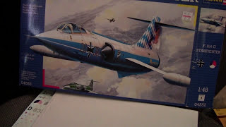 1/48 Revell Germany F-104G Starfighter Review/Preview