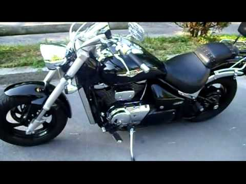 suzuki intruder m800 boulevard 2005 youtube. Black Bedroom Furniture Sets. Home Design Ideas