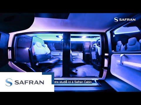 On a imaginé la future cabine des taxis volants | Safran Cabin