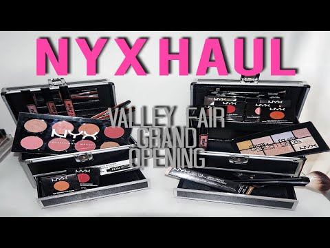 NYX Valley Fair Grand Opening HAUL | BtwTahtee