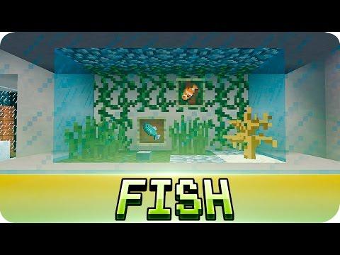 Minecraft - Aquarium / Fish Tank Tutorial (Decoration Ideas)