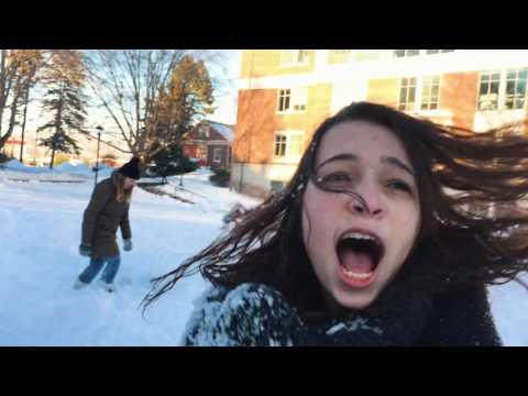 HUGE Snowball Fight | Muhlenberg College