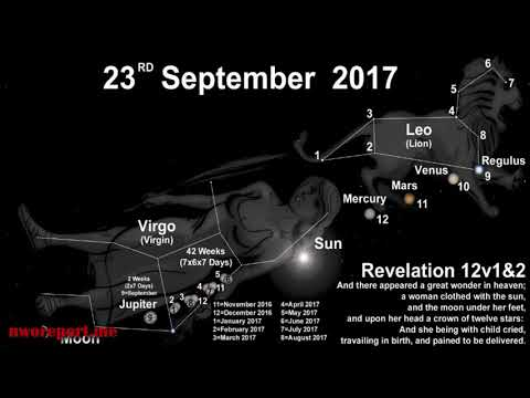 September 23 2017 and the YouTube False Prophets   Mark Taylor Prophecy Update