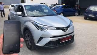 Toyota CH-R Secured With Pandora / Συναγερμός Αυτοκινήτου www.carner.gr