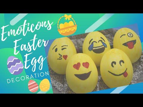   DIY Emoji Easter Eggs    Shradz Happy Place   