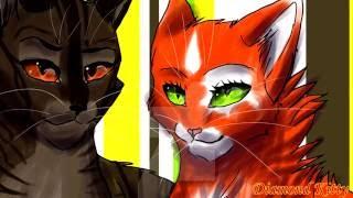 Белка и Ежевика/Squirrelflight&Brambleclaw - Ты только мой