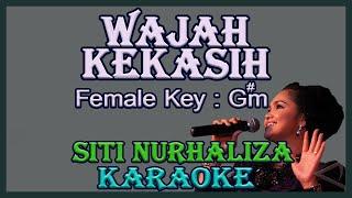 Wajah Kekasih (Karaoke) SitiNurhaliza Nada Wanita / Cewek Female Key G#m Malaysia