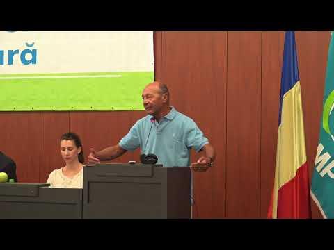Traian Basescu la Scoala de vara a OT PMP 2017