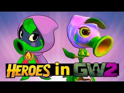 видео: Plants vs Zombies Heroes in PvZ Garden Warfare 2