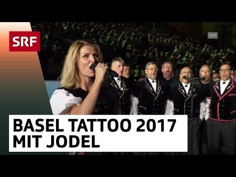 Finale - mit Jodel - Abschied von den Bergen - Basel Tattoo 2017 vom 16.9.2017