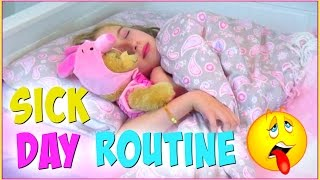 Morning Routine - Sick Day Routine and Essentials