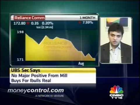 UBS Securities underweight on telecom